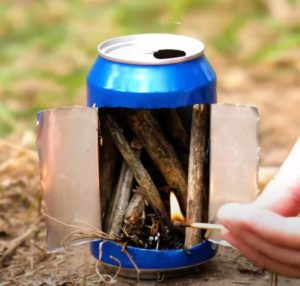 24. An alternative way to make a stove without alcohol!