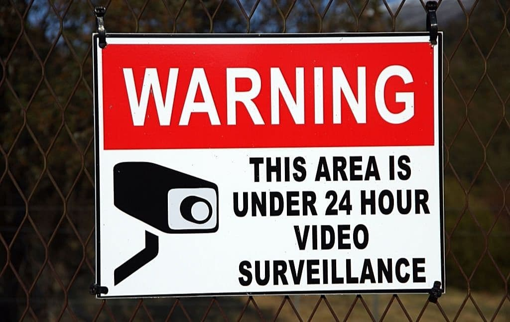 home security sign shtf home security tip