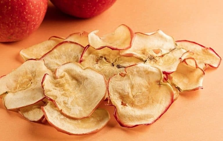 how to dehydrate apples in oven
