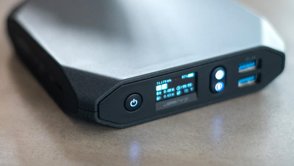 Big portable battery to demonstrate other alternatives