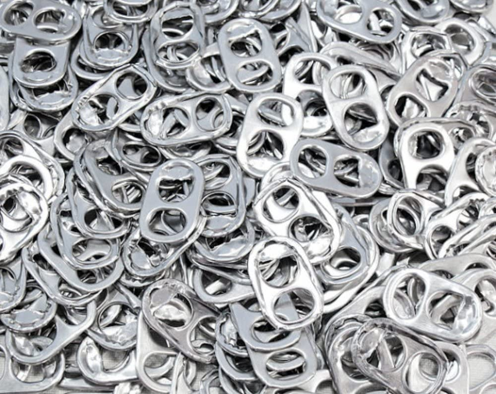 pile of soda tabs