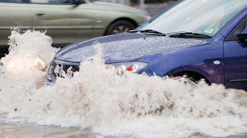 driving in floods car in water flooding flash flood dangerous waters natural disaster survival
