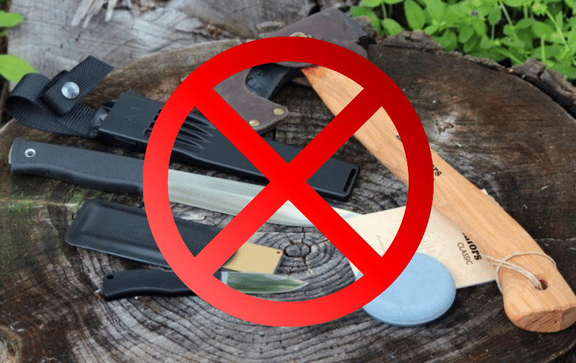 bushcraft tools that aren't owned by experienced bushcrafters