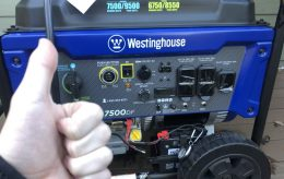westinghouse wgen7500df review